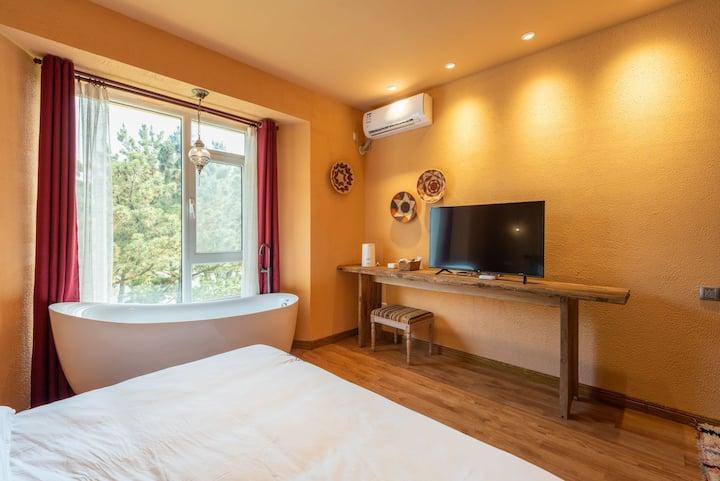 「哈雅民宿」Room 6摩洛哥精选大床房