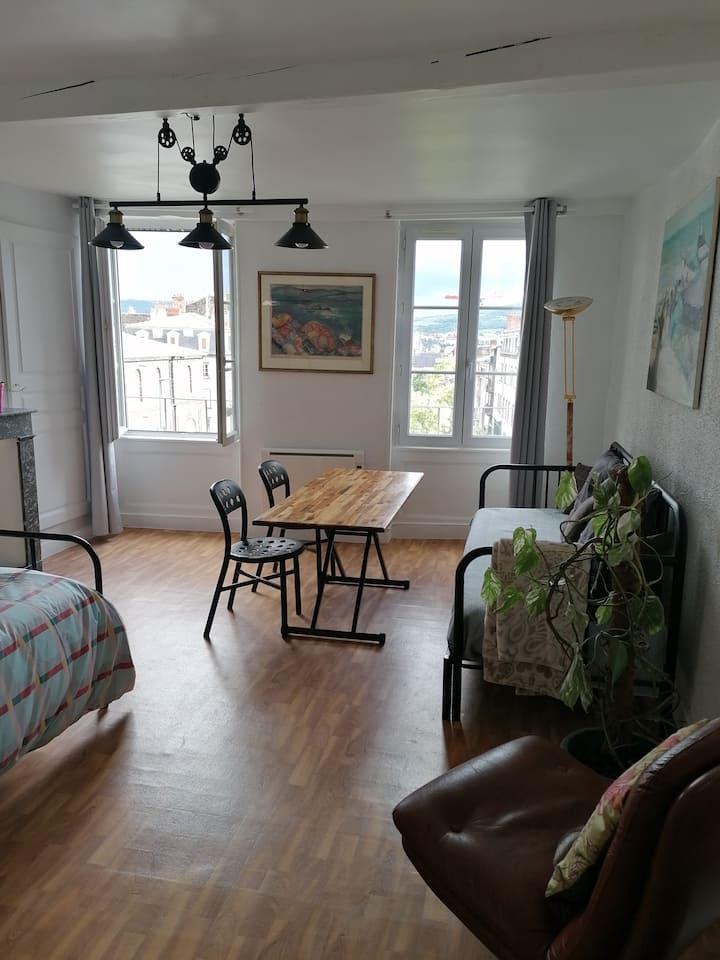 Appartement des Beaux-Arts, cœur centre-ville
