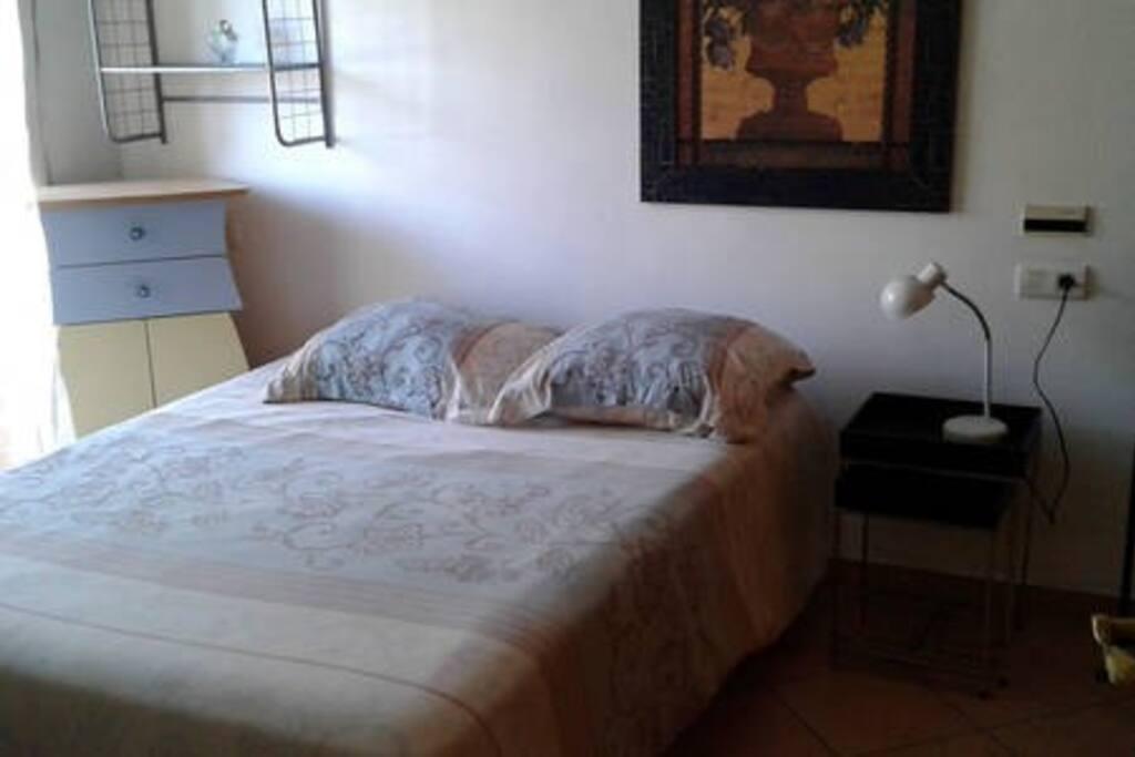 La chambre avec le balcon