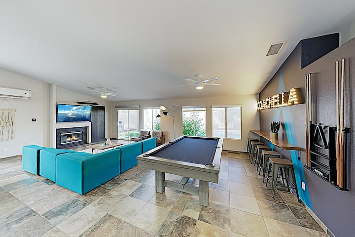 New Listing! Luxe Haven w/ Pool, Spa & Pool Table