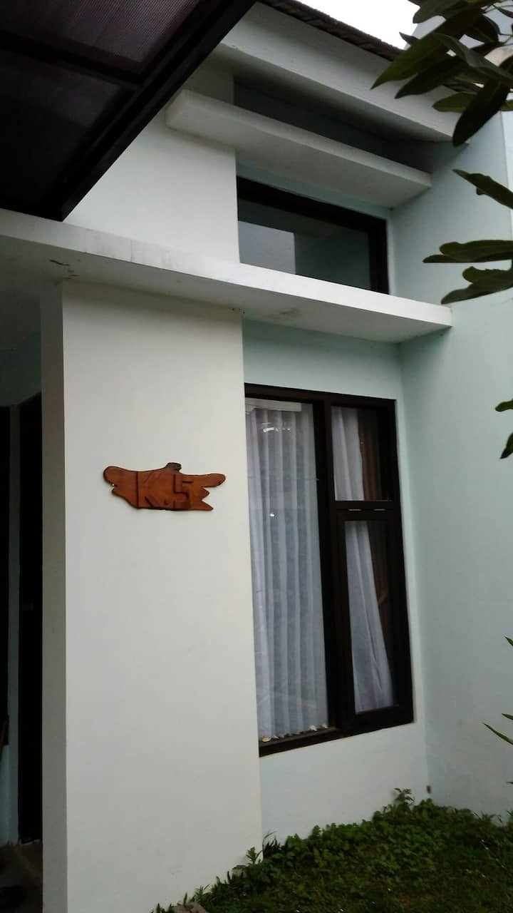 K5 House, in Jatinangor City Park Residence