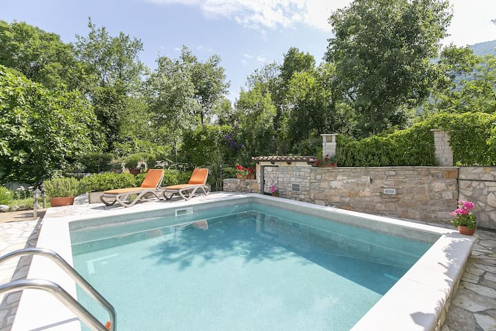 Authentic Istrian stone house Gianni with pool