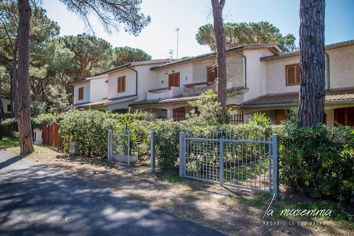 Cottage in a pine forest near the sea - Principina A Mare - Apartment