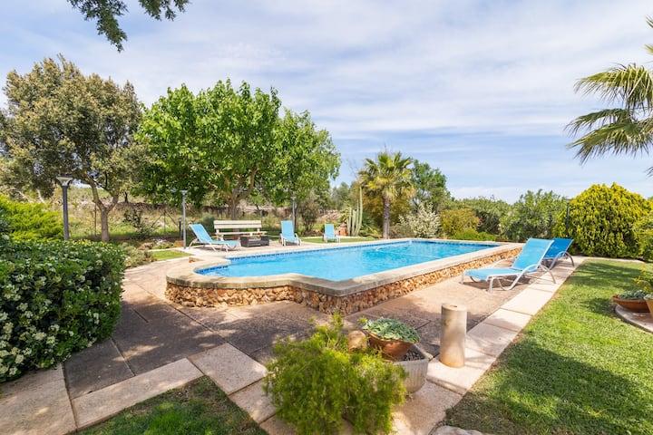 Son Fullos. Finca with pool in Santa Margalida
