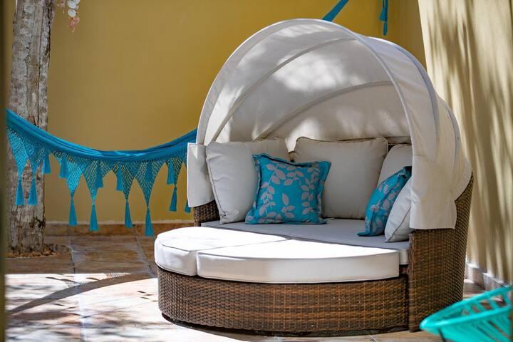 Casa de playa ideal para familias y  amigos