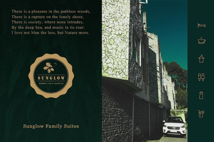 Sunglow Family Suites (set of 2) Bhowali, Nainital