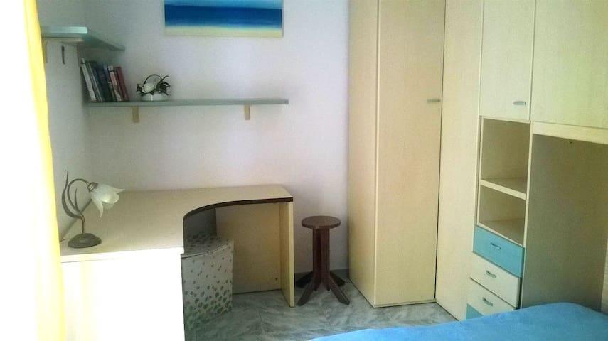 Уютная, светлая комната с балконом и видом на горы - Latina Scalo