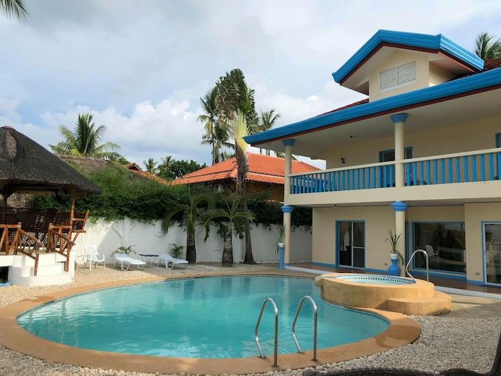 Villa thera beach house