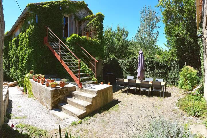 Gite with garden in an idyllic setting