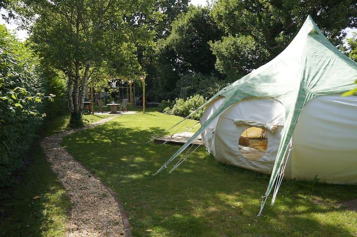 Secret Garden Glamping in Lymington