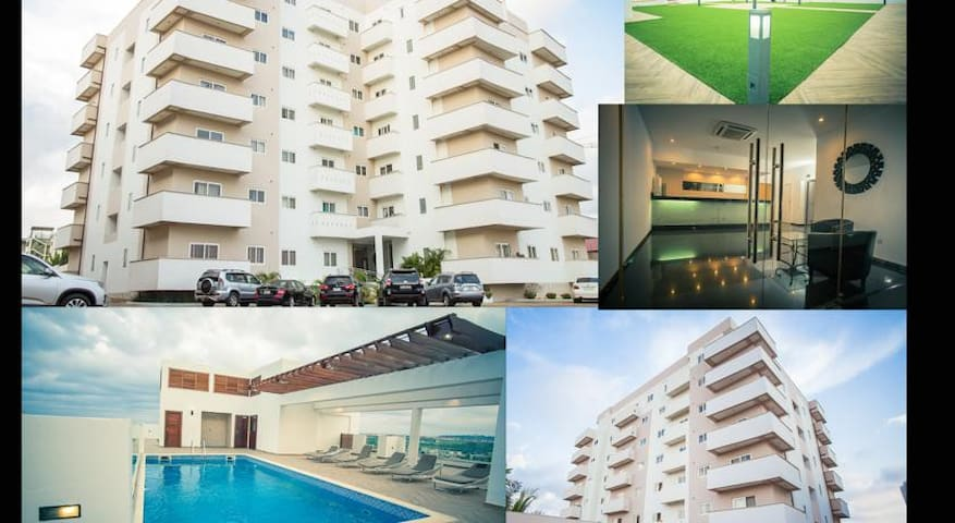 Penthouse in Accra City, close to the Airport.
