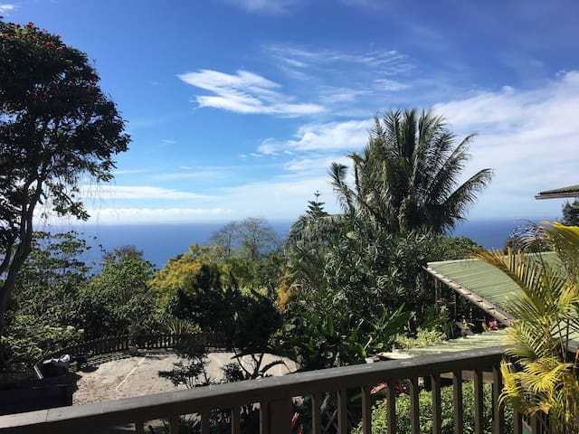 Mana Studio with Ocean View - Hōlualoa - Huis