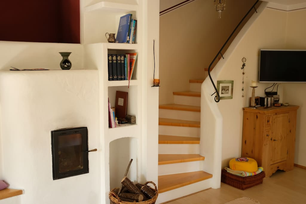 Kamin+Treppenaufgang