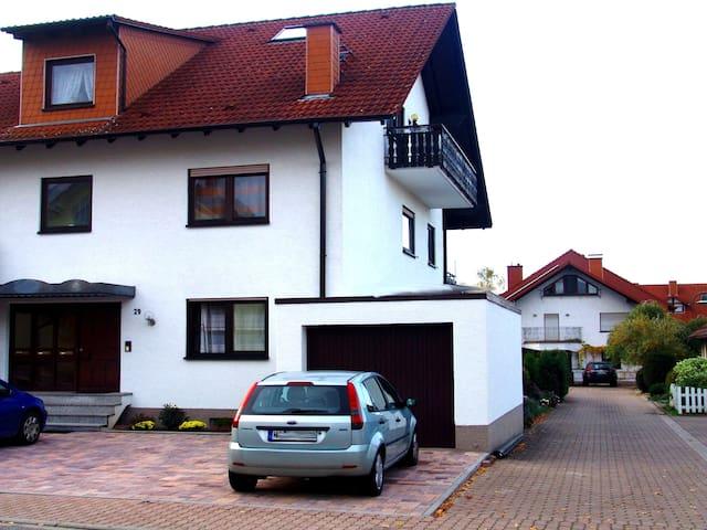 3 ZKBBalkon Nähe Heidelberg/MA 2-6 Pers. Klima neu - Hockenheim - Apartment