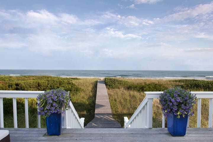 Unique 100% Oceanfront Hamptons - Quogue - Haus