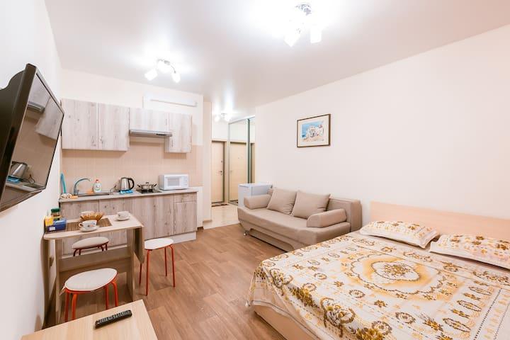 Новая квартира в центре города рядом с метро - Novosibirsk - Apartment