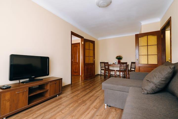 Апартаменты с 1 спальней на Подоле