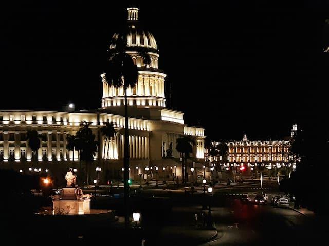 Casa Renier the nicest view to Havana's Capitolio