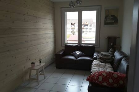 Chambre lumineuse proche Centre ville - Pontarlier - Apartment