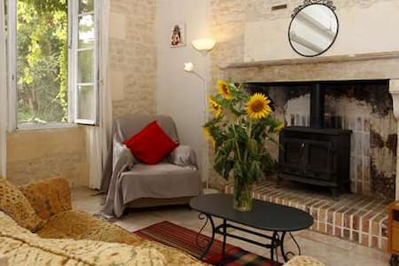 Gorgeous charentaise cottage with double bedrooms.