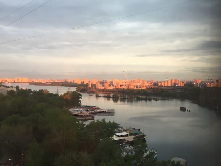 Beautiful panoramic view