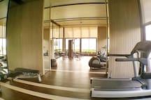 Large gym area
