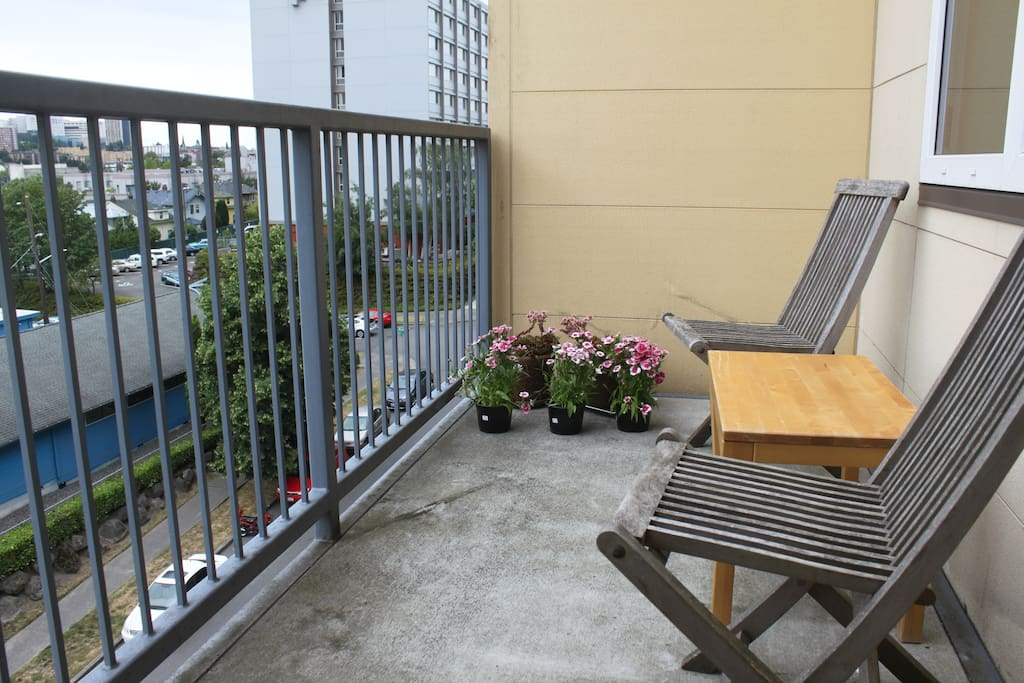 Small deck with great view