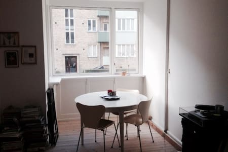 Apartment in charming and upcoming neighbourhood - Copenhaguen