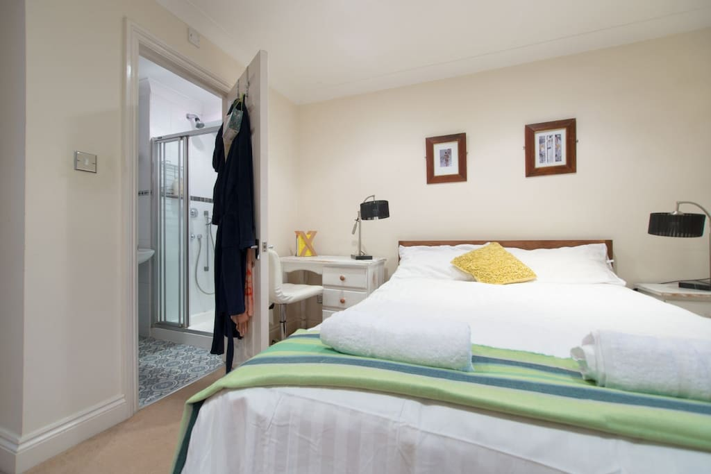 Bedroom 1 with double bed - view 1 (with ensuite shower room)