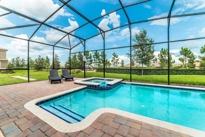 soak up the sun at your private pool
