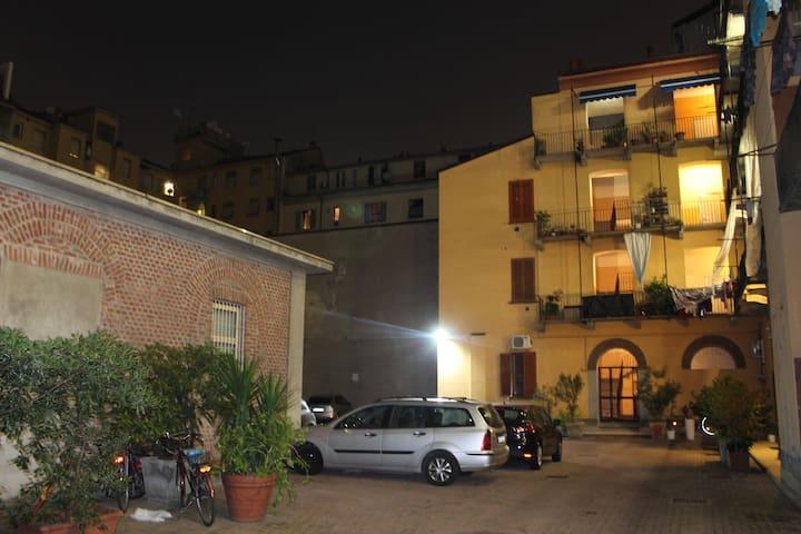 2rooms flat near STAZIONE CENTRALE  ViaSammartini