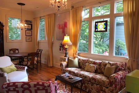 Stylish Inman Park House one bl from Beltline