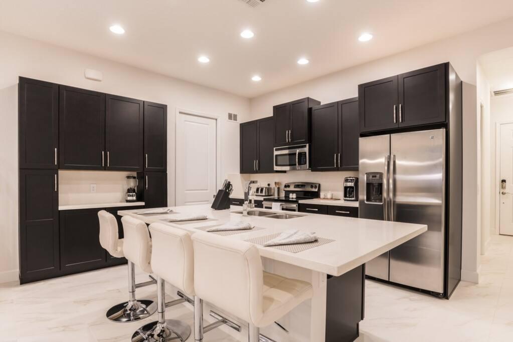 Sink, Indoors, Kitchen, Room, Chair