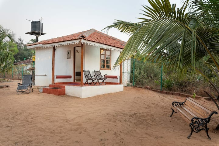 Calangutebeachhouse having private beach access