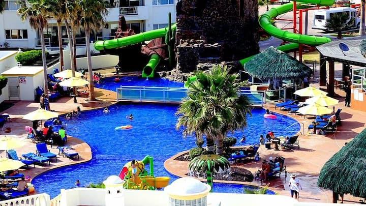 Beautiful Las Palmas Mexico Condo 1brm Sleeps 4