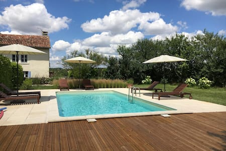 Haybarn @ Le Texier, gite with pool - Verteillac - House