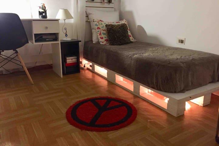 Habitación individual en casa Acassuso Martinez