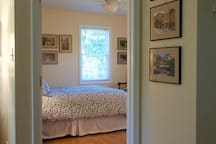 View into bedroom 1