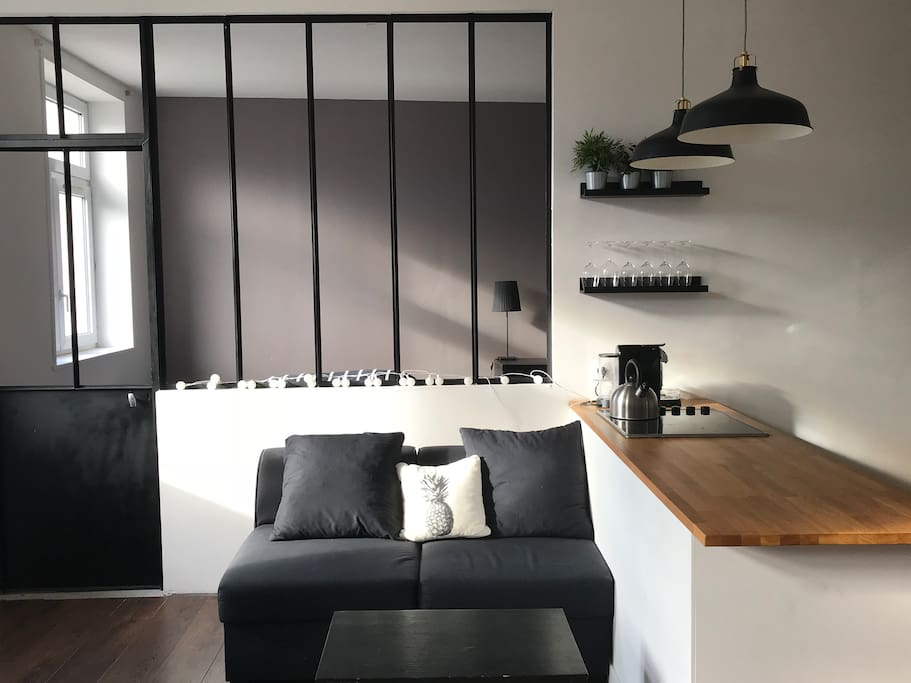 cosy appartement vieux lille appartements louer. Black Bedroom Furniture Sets. Home Design Ideas