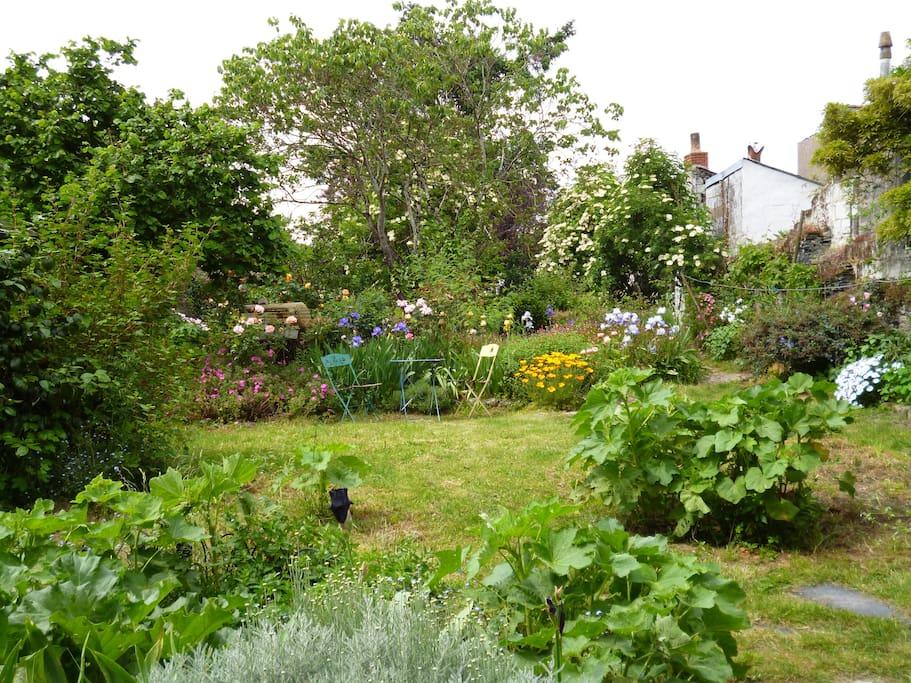 Jolie chambre ind pendante sur jardin suites parentales ou similaires louer angers pays - Petit jardin bucolique angers ...