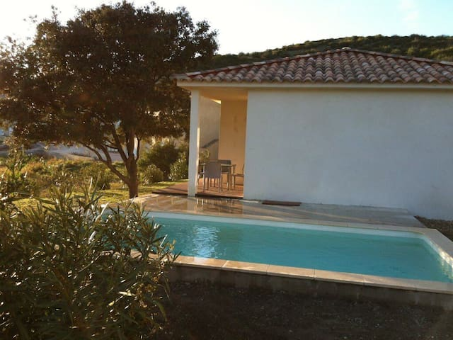 Charm house with private swimming pool - Saint-Florent