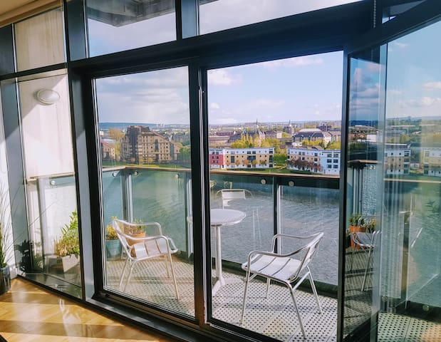 River view apartment for Hydro, City and West End - Glasgow - Apartment