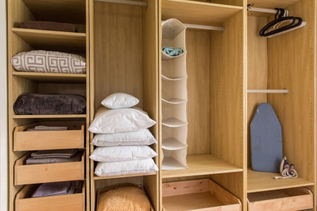 Closet in master suite