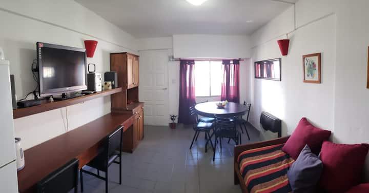 Departamento céntrico, cómodo y accesible