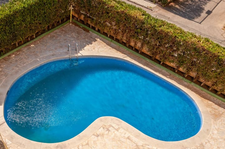 Cozy apartament with swimming pool in Cala Millor