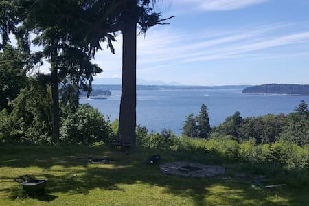 City Escape: A Ferry Ride Away! - Vashon - Dom