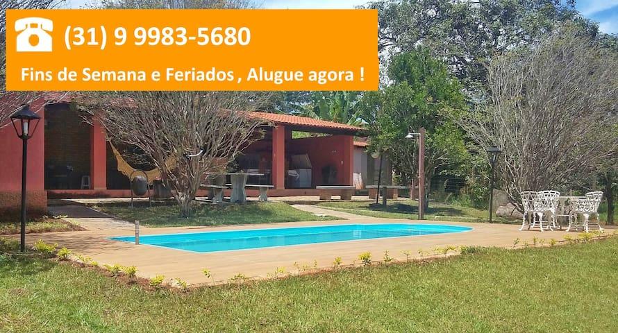Aluguel por Temporada  Cond. Fechado Fazenda Solar - Igarapé - Cabin