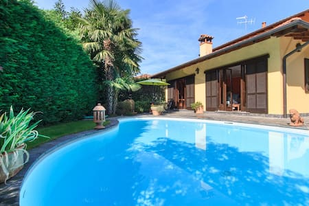 Enchanting villa with private pool - Verbania