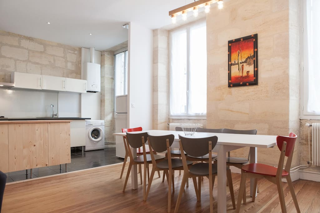 Appartement au centre ville de bordeaux apartments for for Appartement centre ville bordeaux