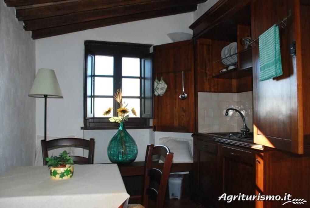 Appartamento Loggia, Cucina Loggia apartment, Kitchen